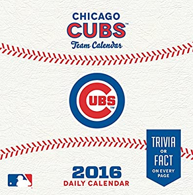 Turner Chicago Cubs 2016 Box Calendar, January-December (8051398)
