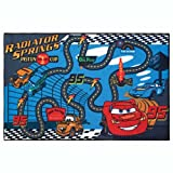 Homelegend DRCRFLG34 Disney Cars Race To Finish Line 30-inches by 54-inches Nylon Activity Rug