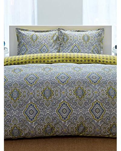 City Scene Milan Grey Comforter/Sham Set