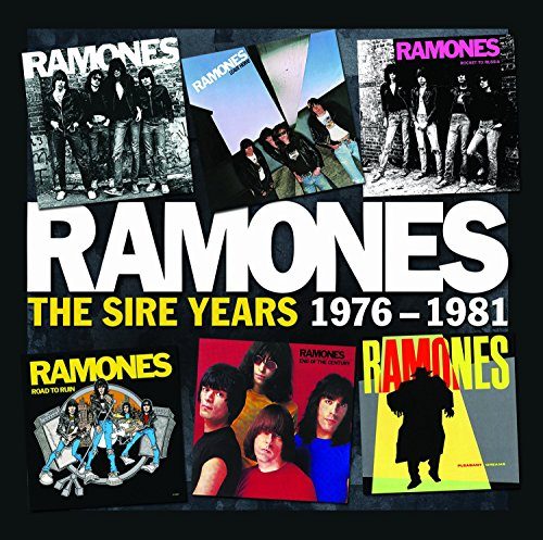 CD : Ramones - The Sire Years 1976-1981 (Boxed Set, 6 Disc)