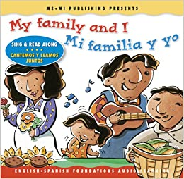 My family and I / Mi familia y yo (Song, Music & Read Along CD
