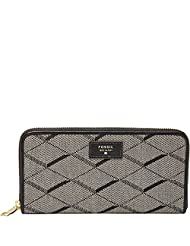 Fossil Sydney Women's Wallet (Black) - B00WIPNX22