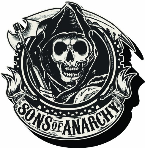 Aquarius Sons of Anarchy Emblem Chunky Magnet
