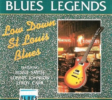 Blues Legends: Low Down St. Louis Blues (Bessie Smith St Louis Blues compare prices)