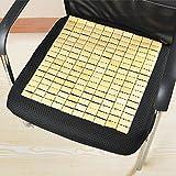 FLYZZZ竹マージャン シート 夏用マット 通気性よい 自然の涼しさ 天然素材がきもちいいい42*43cm