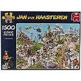 Diset - 02086 - Puzzle - Tour de France - 1500 Pièces