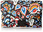 LOEFFLER RANDALL JR Lock (Silk Linen) Envelope Clutch