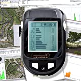 Veloset Handheld GPS Tracker & Wireless GPS Cycle Computer with Trip, Altitude, GPS Route Log & Mapping, Backlight, Pro Athlete Performance Software GPS 600 Bby Veloset