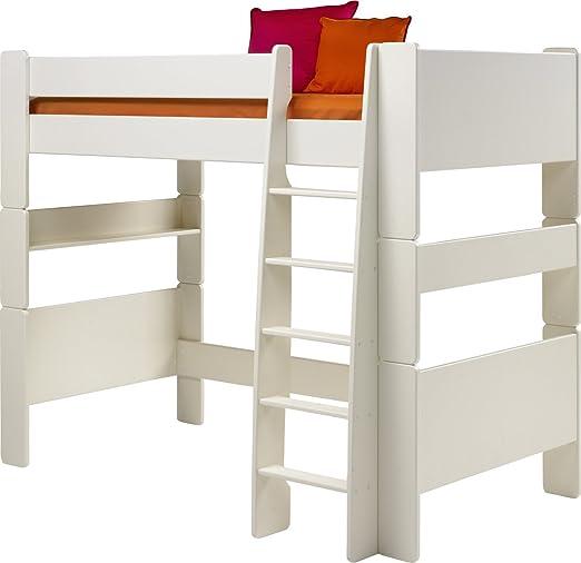Steens High-Sleeper Kids Bed, White