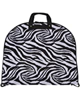 Ever Moda Zebra Prints - A Collection of Hanging Garment Bags (40-inch)