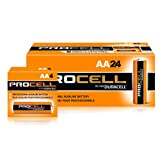 Duracell Procell AA 24 Pack PC1500BKD09 (Color: orange and black, Tamaño: AA)