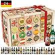 24x Beste Biere Deutschlands Geschenkset. Mit Weihenstephaner, Mei�ner Rubin, Dingslebener Lava und mehr - inkl. 24 T�rchen