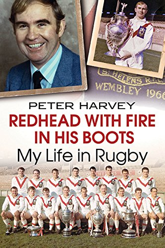 Book: Redhead with Fire in His Boots - My Life in Rugby by Peter Harvey