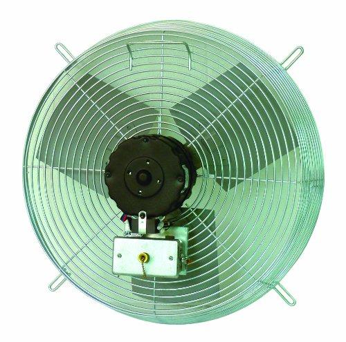 Direct Drive Wall Fans : Tpi corporation ce d direct drive exhaust fan guard