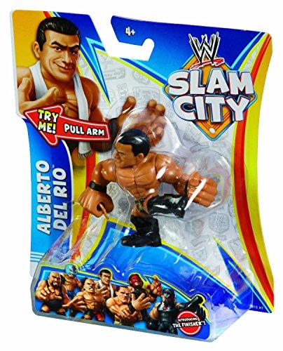 WWE Slam City Alberto Del Rio Figure - 1