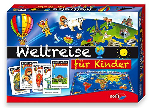 "Noris ""Weltreise für Kinder"" Children's game  (Multi-Color)"