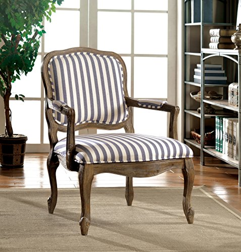 Furniture Of America Hammond Transitional Striped Accent