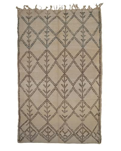 Hotel Marrakeche One of a Kind Hand Knotted Moroccan Rug, Natural, 5' 5 x 9' 6 As You See