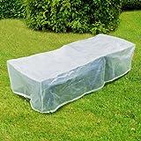 Schutzhaube für Gartenliegen ca. 200 x 75 cm