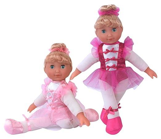 Poupées Monde 8771Little Ballerine poupée dans une boîte cadeau