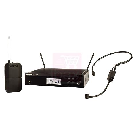 Shure BLX14R-P31 (M17, 662-686 MHz) système sans fil avec micro serre-tête (version rack)