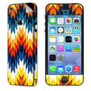 Theskinmantra Dragon Back cubes Apple iPhone 5S mobile skin