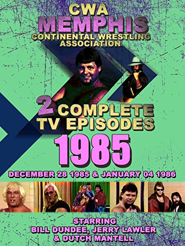 CWA Memphis Wrestling 2 Complete TV Episodes 1985