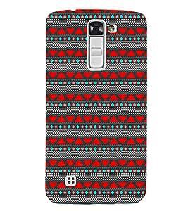 EPICCASE ethnic design Mobile Back Case Cover For LG K7 (Designer Case)