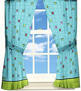 Mr Men Little Miss Funny Pages Window Drapes by Mr Men Little Miss