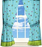 Mr Men Little Miss Funny Pages Window Drapes