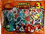 Disney Family Favorites Lollipops 6 Different Fun Pops! Bag of 3 Lbs.