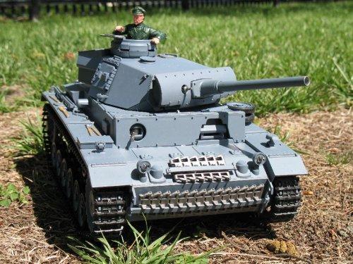 1:16 RC German Panzer Kampfwagen III Remote Controlled Battle Tank