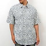 (ジーンズショップ マルカワ) Jeans shop MARUKAWA大きいサイズ 総柄プリント 半袖 シャツ