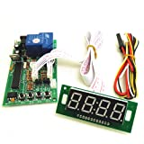 Tongmisi Timer Control Board Time Controller PCB Power Supply for Coin Acceptor Selector with 40cm White Lead,JY-15B