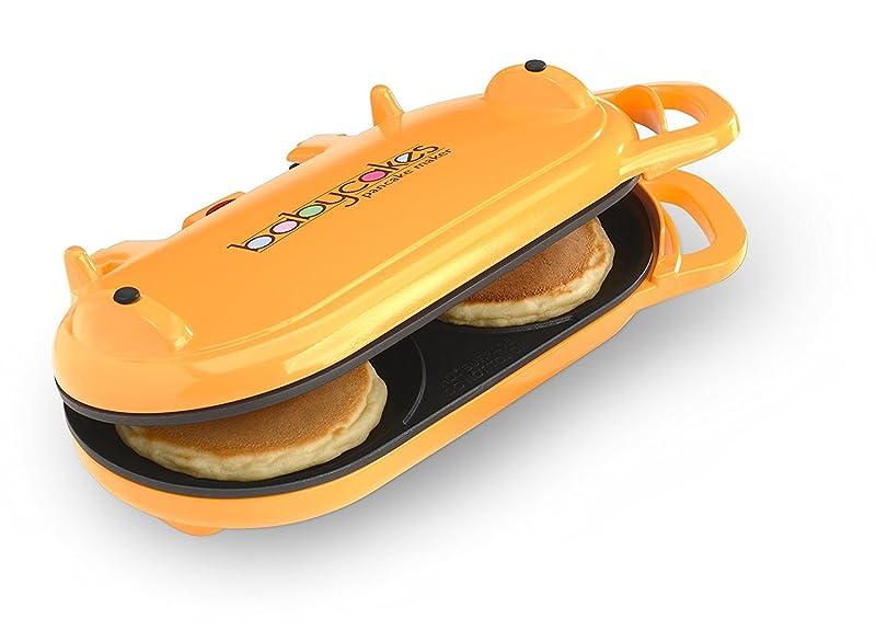 Babycakes Flip-Over Pancake Maker Orange via Amazon