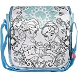 Simba Color Me Mine Sequin Messenger Bag - Frozen, Blue