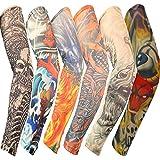 Yesurprise 6x Yesurprise Fashion Temporary Fake Slip On Tattoo Body Sleeve Arm Stockings Set Kit #2