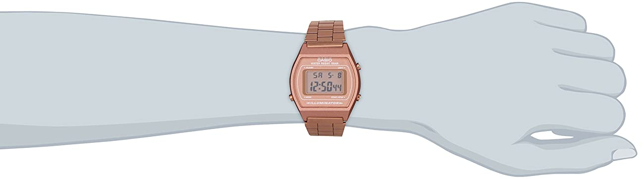 Casio B640WC-5AEF Ladies Retro Digital Watch 3