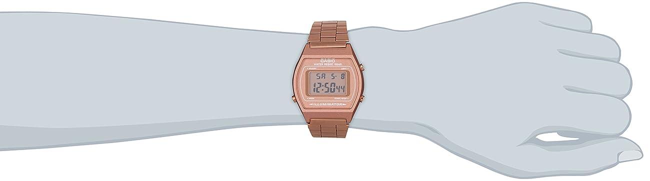 Casio B640WC-5AEF Ladies Retro Digital Watch 3
