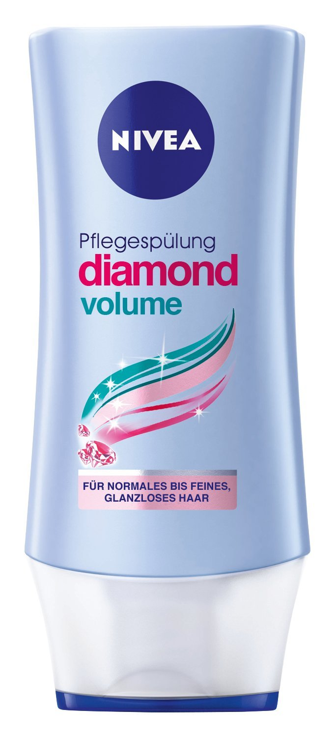 Nivea Diamond Volume Glanz Pflegespülung,