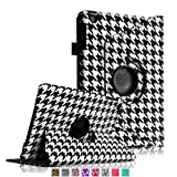 Fintie 360 Degree Rotating Stand Smart Cover Case with Automatic Sleep/Wake Feature for Apple iPad Mini 7.9 inch Tablet - Houndstooth