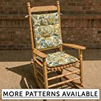 Tufted Rocking Chair Cushion Set