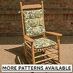Tufted Rocking Chair Cushion Set