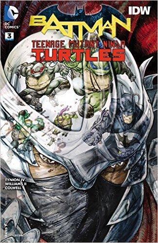 BATMAN TEENAGE MUTANT NINJA TURTLES #3 (OF 6) Cover A