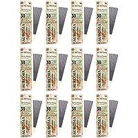 Auroma Agarbathies Auroville Wood Incense Stick (480 G,20 Cm, Pack Of 12) - B01HMX85O0