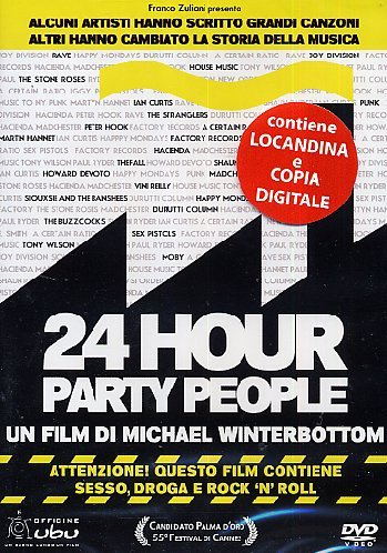 24 hour party people [Italia] [DVD]