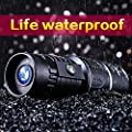 USCAMEL® High Magnification Monocular Dual Adjustment Telescope for Camping