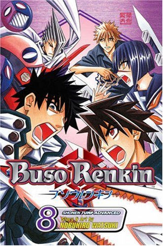 Buso Renkin, Manga Vol. 8