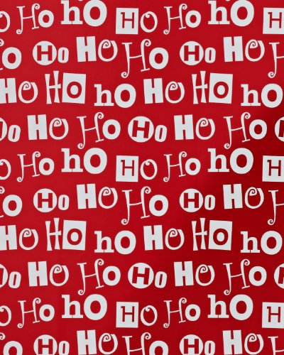 American greetings christmas holiday wrapping paper roll red ho ho american greetings christmas holiday wrapping paper roll red ho ho ho lettering 645416627092 m4hsunfo