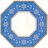 Judaic Traditions Octagonal Plates, 10 in.